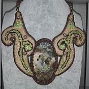 Украшения handmade. Livemaster - original item The decoration of Basra and stones. Necklace
