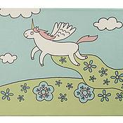 """Для дома и интерьера ручной работы. Ярмарка Мастеров - ручная работа Картина """"Лошадки"""" (мотив 1). Handmade."""
