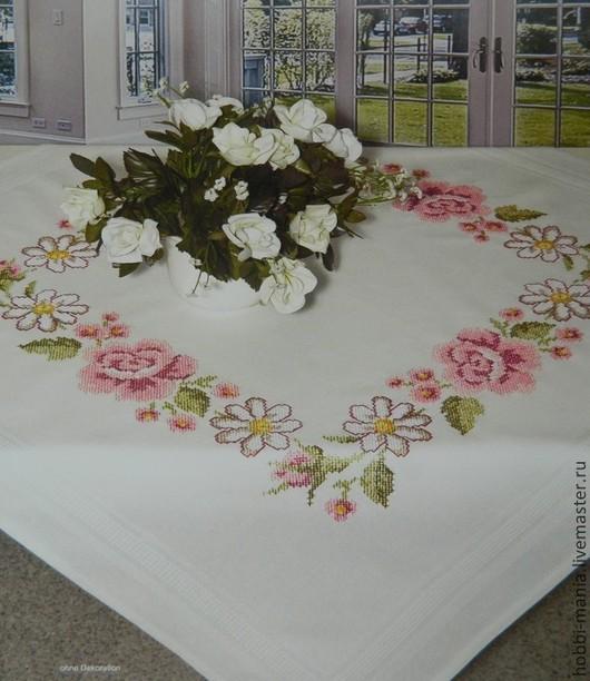 Вышивка ручной работы. Ярмарка Мастеров - ручная работа. Купить Набор для вышивания скатерти SHAEFER  6764.205. Handmade.
