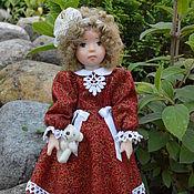 Куклы и игрушки ручной работы. Ярмарка Мастеров - ручная работа Кукла из  полимерной глины Марьяша. Handmade.