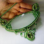 Украшения handmade. Livemaster - original item Charm amulet pendant necklace with mirror