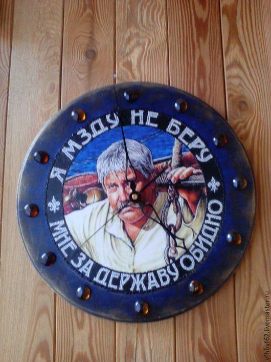 Часы для дома ручной работы. Ярмарка Мастеров - ручная работа. Купить Часы Ностальгия. Handmade. Комбинированный, часы настенные