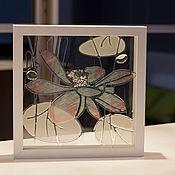 Картины и панно ручной работы. Ярмарка Мастеров - ручная работа Лотос - совершенный цветок. Handmade.