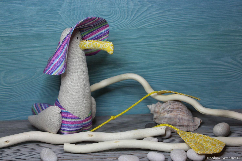Чайка на пляже, Мягкие игрушки, Санкт-Петербург,  Фото №1