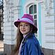 """Шляпы ручной работы. Весенняя шляпа """"Mars"""" (Март). Наталья Прокофьева (la-magie-spb). Ярмарка Мастеров. Весенняя шляпа"""