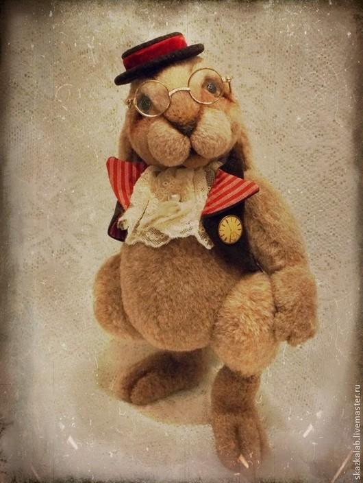 Мишки Тедди ручной работы. Ярмарка Мастеров - ручная работа. Купить Мистер Бингл. Handmade. Кролик, альпака