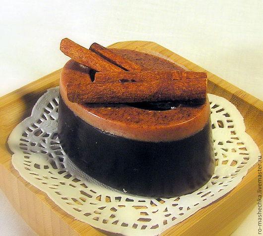 """Мыло ручной работы. Ярмарка Мастеров - ручная работа. Купить Мыло """"Шоколад и корица"""". Handmade. Корица, натуральное мыло, сувенир"""