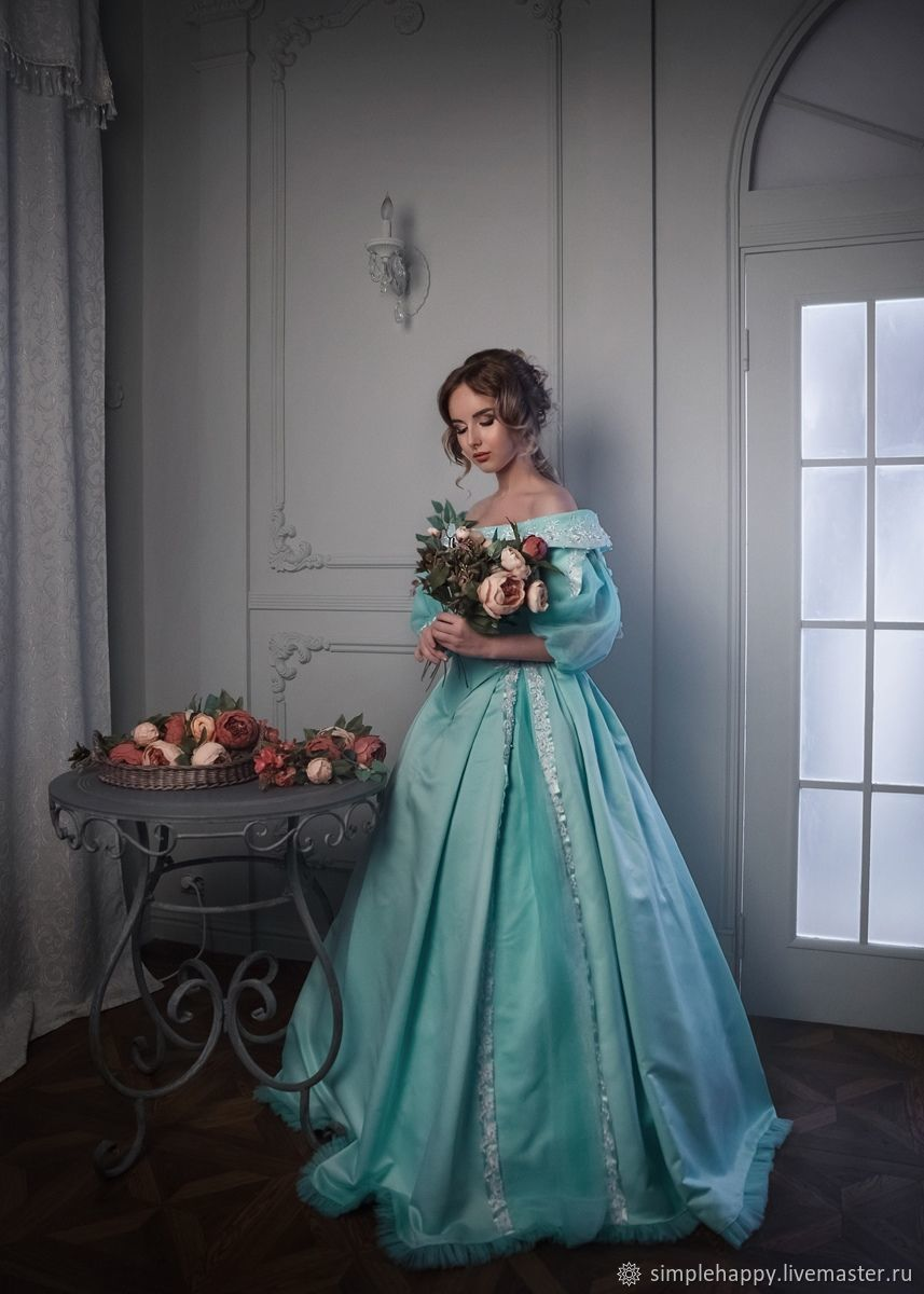 Ball gown with crinoline, Dresses, Novosibirsk,  Фото №1