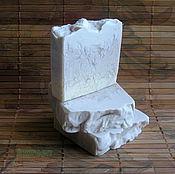 Косметика ручной работы. Ярмарка Мастеров - ручная работа Мыло Шелковая лаванда (натуральное мыло с нуля). Handmade.