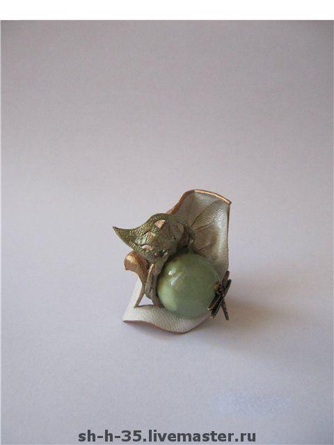 """Кольца ручной работы. Ярмарка Мастеров - ручная работа. Купить Кольцо """" Нефритовый поцелуй"""". Handmade. Подарок девушке"""