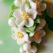 """Косметика ручной работы handmade. Livemaster - original item Мыло """"Весеннее цветение"""". Handmade."""