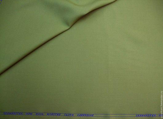 Шитье ручной работы. Ярмарка Мастеров - ручная работа. Купить Шерсть костюмная Seawardtex, ярко-зеленая. Handmade. Шерсть 100%