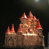 """Фонтаны ручной работы. Ярмарка Мастеров - ручная работа Сказочный замок - фонтан  """"8 башен"""". Handmade."""