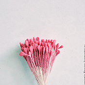 Материалы для творчества handmade. Livemaster - original item Stamens deep pink to rose. Handmade.