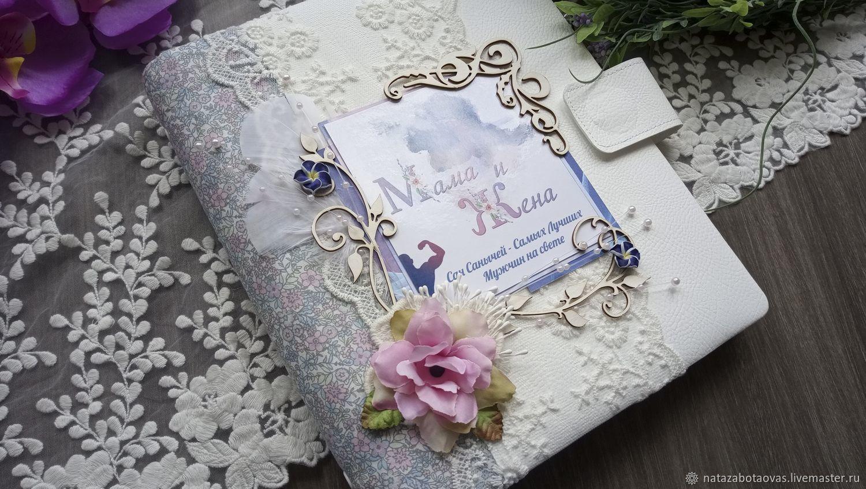 Подарочные изделия на заказ,нежный ежедневник, Открытки, Москва, Фото №1
