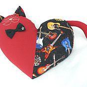 """Куклы и игрушки ручной работы. Ярмарка Мастеров - ручная работа Кот """"Музыка нас связала"""". Handmade."""