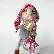 Подарки к праздникам ручной работы. Ярмарка Мастеров - ручная работа Год обезьяны, символ года, сувенир, игрушка мартышка, обезьяна подарок. Handmade.