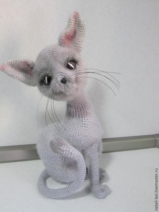 Игрушки животные, ручной работы. Ярмарка Мастеров - ручная работа. Купить Коты кошечки котята. Handmade. Серый, амигуруми