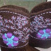 """Обувь ручной работы. Ярмарка Мастеров - ручная работа Валенки """"просто валенки"""". Handmade."""
