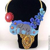 Украшения ручной работы. Ярмарка Мастеров - ручная работа Колье Африка. Слон. Handmade.