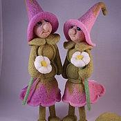 Куклы и игрушки ручной работы. Ярмарка Мастеров - ручная работа Горошки.Соня и Аня.. Handmade.