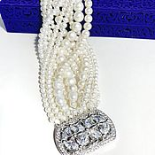 Украшения handmade. Livemaster - original item Pearl bracelet. Handmade.