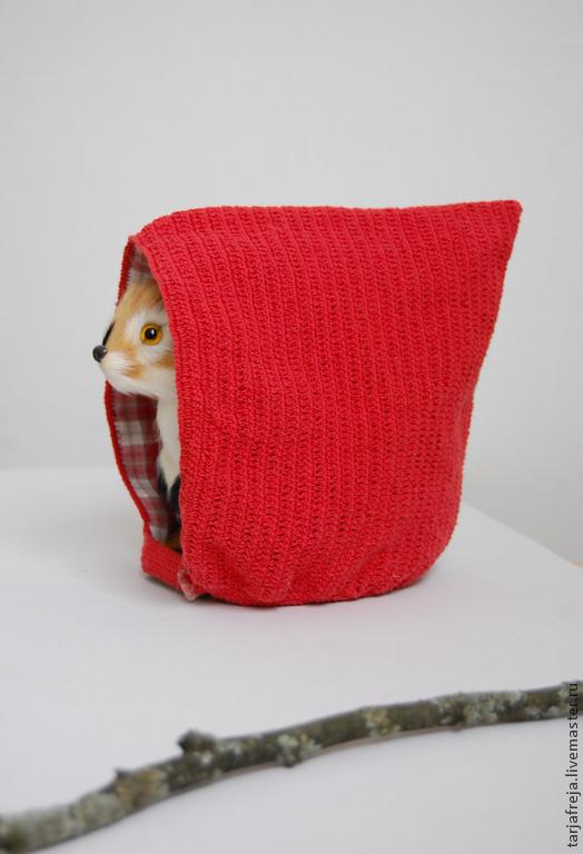 Шапки и шарфы ручной работы. Ярмарка Мастеров - ручная работа. Купить красный колпачок для малышки - rodluvan - red toddler pixie gnome hat. Handmade.