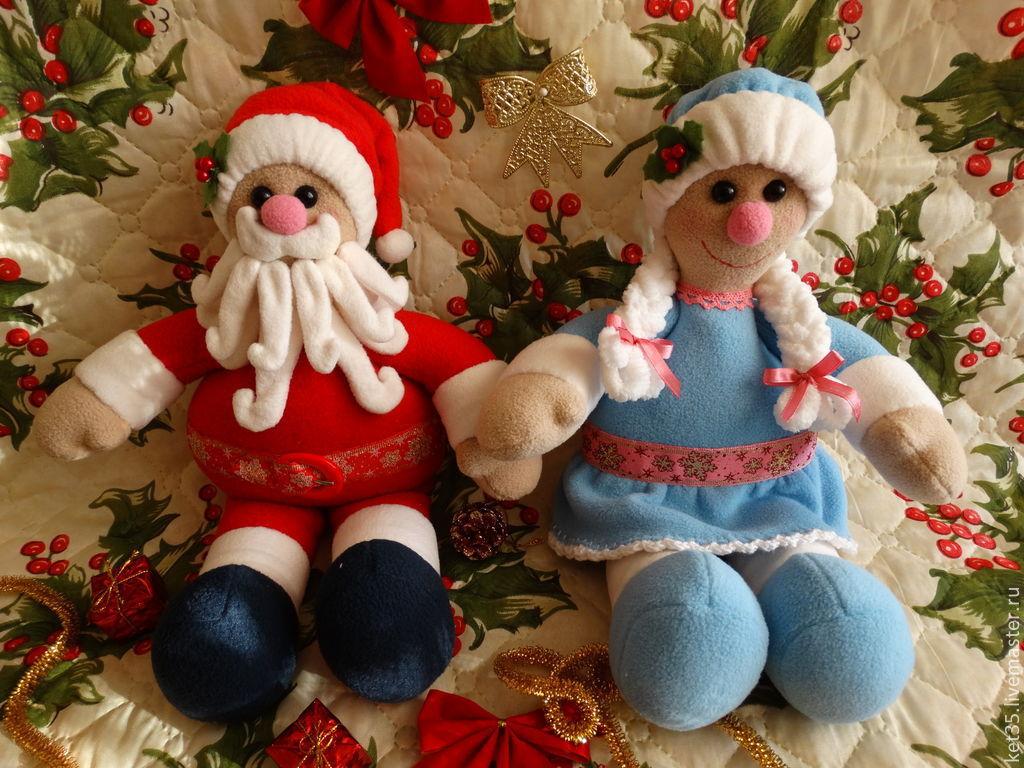 Дед Мороз и Снегурочка, Сказочные персонажи, Электроугли, Фото №1
