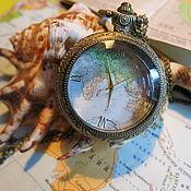 """Украшения ручной работы. Ярмарка Мастеров - ручная работа Винтажные часы """"Дальние странствия 3"""". Handmade."""