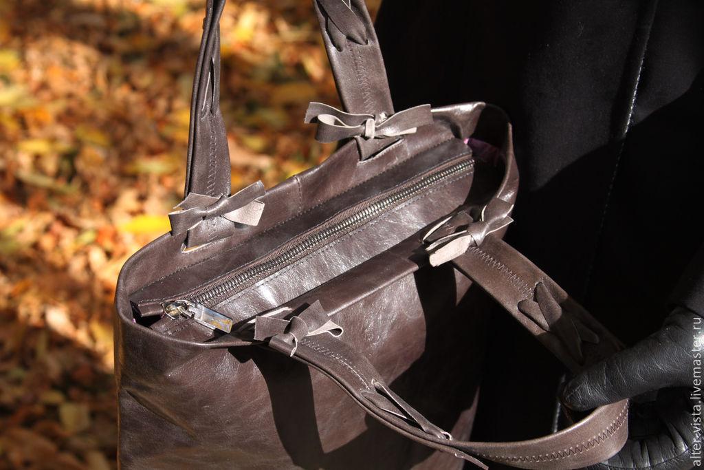 e951b7234611 ... Alter vista, кожаные сумки, клатчи из кожи, шопперы, сумка-пакет,