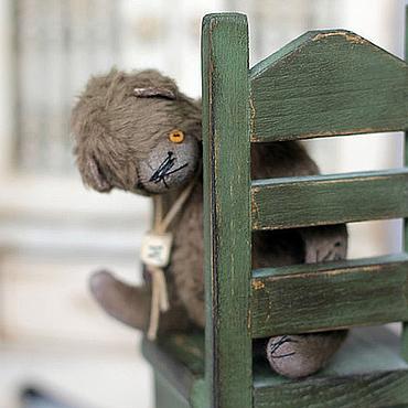 Куклы и игрушки ручной работы. Ярмарка Мастеров - ручная работа Митя и медведь. Handmade.
