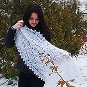 Shawls1 handmade. Livemaster - original item Down stole scarf