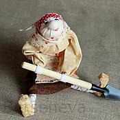 Куклы и игрушки ручной работы. Ярмарка Мастеров - ручная работа Кукла Бабушка огородница. Handmade.