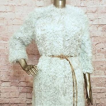 Одежда ручной работы. Ярмарка Мастеров - ручная работа Шубка из козы. Handmade.
