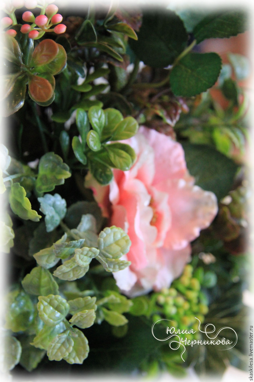 Pink rose Interior arrangement, Composition, Novosibirsk,  Фото №1