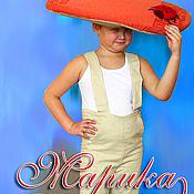 """Работы для детей, ручной работы. Ярмарка Мастеров - ручная работа дет. костюм """"гриб"""". Handmade."""