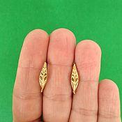 Материалы для творчества handmade. Livemaster - original item 1116 Earrings for earrings, English lock, brass, Russia. Handmade.