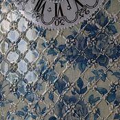 Для дома и интерьера ручной работы. Ярмарка Мастеров - ручная работа Часы настенные Изразцы Гжель. Handmade.