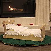 Куклы и игрушки handmade. Livemaster - original item The cradle rocking chair. Handmade.