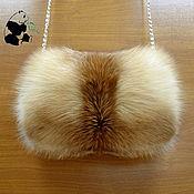 Аксессуары handmade. Livemaster - original item Fur clutch bag from the fur of the red Fox. Women`s fashion accessory. Handmade.