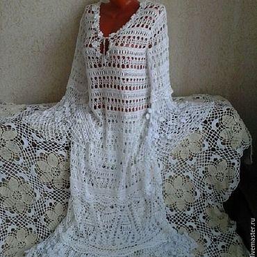 """Одежда ручной работы. Ярмарка Мастеров - ручная работа Платье ажурное """"Любимое мое""""ручной работы. Handmade."""