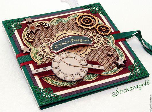 """Открытки для мужчин, ручной работы. Ярмарка Мастеров - ручная работа. Купить Мужская открытка """" Мужской стиль"""". Handmade."""