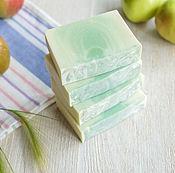 Косметика ручной работы. Ярмарка Мастеров - ручная работа Натуральное мыло Яблочный пай. Handmade.