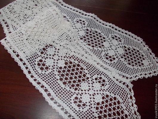 """Текстиль, ковры ручной работы. Ярмарка Мастеров - ручная работа. Купить Д-ка""""Севилья"""". Handmade. Белый, подарок"""