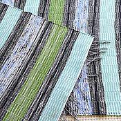 Для дома и интерьера ручной работы. Ярмарка Мастеров - ручная работа Половик ручного ткачества (№ 188). Handmade.