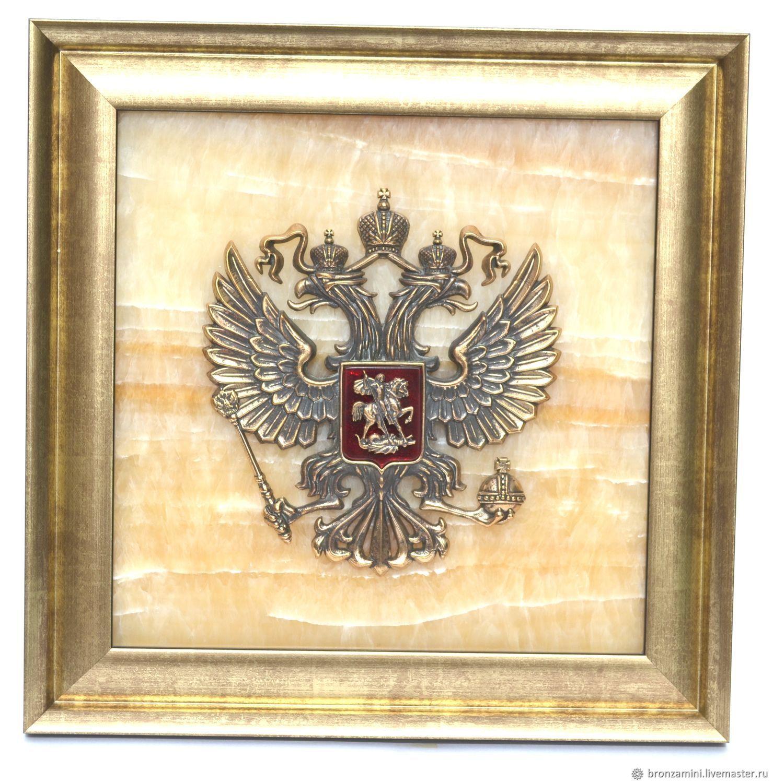 Изделия из глины герб российской федерации фото