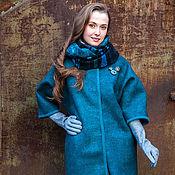 "Одежда ручной работы. Ярмарка Мастеров - ручная работа Валяное пальто ""ХАМЕЛЕОН"". Handmade."