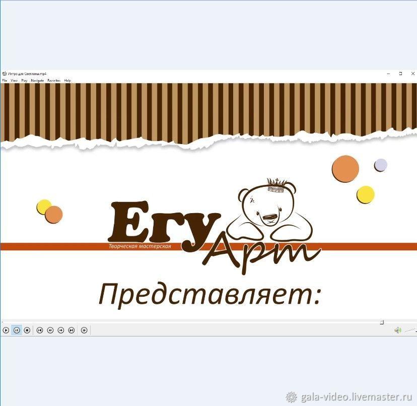 Видео-заставка для YouTube-канала, Видео, Москва, Фото №1