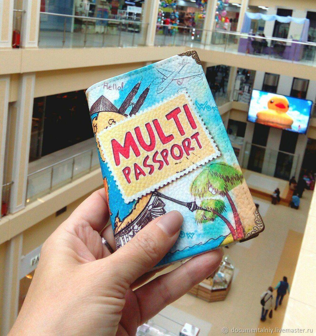 Passport cover 'Multisport', Passport cover, Obninsk,  Фото №1
