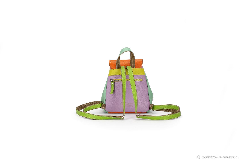 ed35c512383a Женский мини-рюкзак из натуральной кожи арт. 3027 – купить в ...